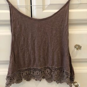 Bottom embroidery top